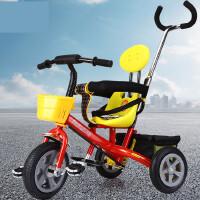 【支持礼品卡】儿童三轮车1-6岁脚踏车推车小孩童车手推车7cp