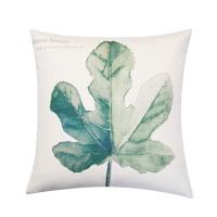 北欧简约风沙发加厚棉麻抱枕 客厅 飘窗靠垫办公室靠枕套