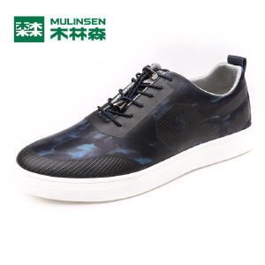 木林森男鞋  男士舒适轻质时尚板鞋 05177327