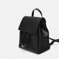 ZARA女包黑色2019新款韩版百搭旅行登山包大容量书包日常双肩背包