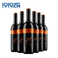 【1919酒类直供】黄尾袋鼠梅洛美乐红葡萄酒750ml*6瓶红酒整箱