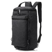 双肩包户外旅行水桶背包帆布登山运动多功能男大容量行李包手提
