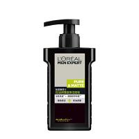 巴黎欧莱雅男士洗面奶控油调理液体洁面皂乳膏补水保湿清洁黑头