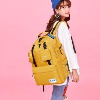 明星同款2020新款潮牌双肩包女大容量旅行包电脑包百搭大学生书包