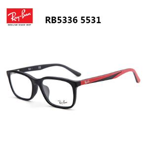 雷朋近视眼镜框女男款板材近视眼镜 女款复古眼镜框 配眼镜5336