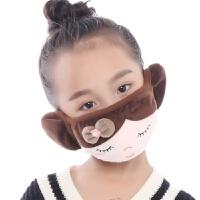 冬天骑行护耳罩冬季男女防尘防风保暖透气防护口罩