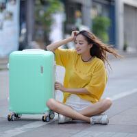 皮箱拉杆箱男密码箱20寸行李箱女学生小清新韩版万向轮24寸子母箱SN8211 浅绿色 【升级款】