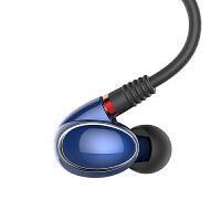 飞傲(FiiO)FH1 两单元明眸圈铁入耳式耳机 蓝色