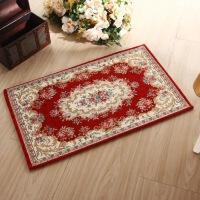 欧式地毯入户门垫脚垫客厅沙发茶几卧室床边毯进门地垫提花地毯