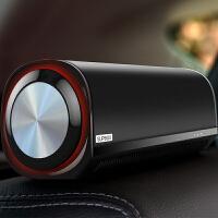车载空气皮质净化器汽车用车内氧吧除甲醛烟味PM2.5 智能检测空气 黑色