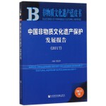 中国非物质文化遗产保护发展报告(2017)/非物质文化遗产蓝皮书