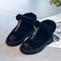 №【2019新款】冬天小朋友穿的女童靴子秋�和�鞋英���L�R丁靴加�q小女孩公主短靴