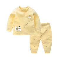 婴儿内衣套装睡衣春秋装幼儿宝宝3秋衣秋裤12男6个月9女