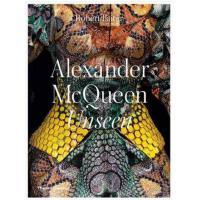 英文原版 Alexander McQueen: Unseen亚历山大・麦昆无形服装设计 时尚服装 图形图案 艺术设计