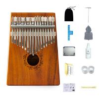 思雅晨卡林巴琴10音17音拇指钢琴便携非洲手指琴简单易学乐器KALIMBA