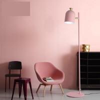 北欧现代简约客厅沙发卧室床头书房创意个性led马卡龙立式落地灯n7v