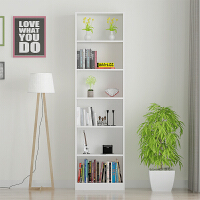 简易书架学生小书柜格子架订制书架落地简约现代窄柜子定做储物柜