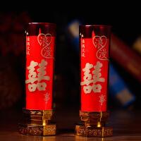 婚房装饰用品LED仿真电子蜡烛灯洞房花烛婚庆电蜡烛 浪漫喜事LED电子蜡烛