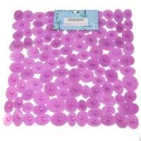 大贸商 浴室防滑垫 卵石PVC地垫 按摩浴垫 带吸盘  H5018/7