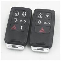 沃尔沃智能钥匙外壳S60L/XC60/S80L/V60/V40原车汽车钥匙外壳替换