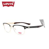 李维斯时尚近视眼镜架 全框合金眼镜框男女 可配光学眼镜LS05197