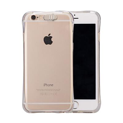 iPhone6s来电闪手机壳苹果plus发光保护套7个性闪光8男女款x个性创意简约情侣新款全包防摔软