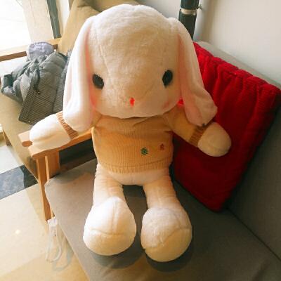 兔子毛绒玩具布娃娃公仔少女心可爱礼物睡觉抱枕女孩小玩偶垂耳兔 提示:请核对好颜色尺寸在下单,如有疑问请联系店铺客服!