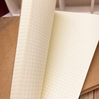 小方格本几何绘图本绘画本网格B5大号16K牛皮网格本