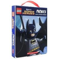 华研原版 乐高DC英雄自然拼读12册 英文原版绘本 Lego DC Super Heroes Phonics教材 全英