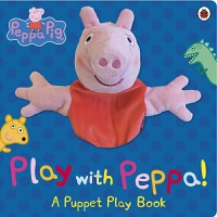 粉红猪小妹 大型手偶纸板书 Peppa Pig: Play with Peppa Hand Puppet Book 手