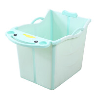 可折叠儿童洗澡桶超大号泡澡桶浴盆宝宝浴桶小孩洗澡盆可坐沐浴桶