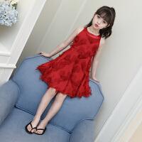 童装女童裙子夏装新款儿童连衣裙韩版夏季洋气公主裙蓬蓬纱潮