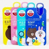 可莱丝(Clinie)N.M.F新款动物针剂面膜10片装/盒