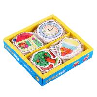 婴幼儿0-3玩具 1-3岁早教1-2岁宝宝玩具配对拼图儿童启蒙 配对拼图72个