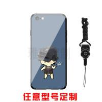 xr绝地求生抖音苹果7plus手机壳X玻璃iphone6s吃鸡8plus刺激战场7