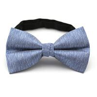 男结婚礼服西装蝴蝶结领结学生韩版伴郎服英伦海蓝色领结