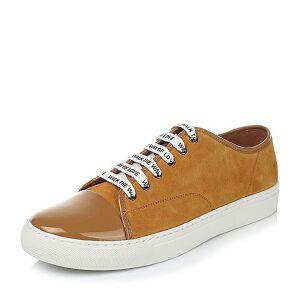 Tata/他她秋季专柜同款牛剖层皮男休闲鞋F6623CM6