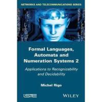【预订】Formal Languages, Automata and Numeration Systems Volume