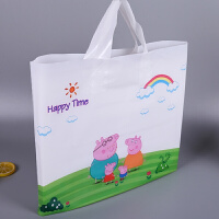 加厚卡通母婴塑料袋礼品袋童装服装手提袋批发定制logo购物袋大号
