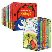 Honey English 甜心英语20本 Peep Inside 6本 儿童英文原版绘本 儿童宝宝启蒙翻翻书 甜心书