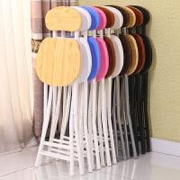 折叠椅子凳子 家用餐桌餐椅电脑椅 现代简易便携加厚创意时尚o1e