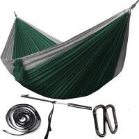 加长加宽自由鹰降落伞布吊床户外单双人室内非帆布吊床秋千