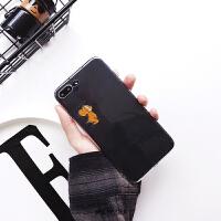 情侣卡通苹果7/8plus透明手机壳iPhoneX/Xs/Max/XR软壳6s创意7P女 6/6s 老鼠