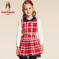 【秒杀价:98元】暇步士童装秋装新款女童时尚连衣裙HKQ8ZA41