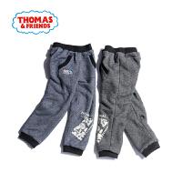 托马斯童装男童冬装冬季新品男童长裤中小童运动裤卫裤加绒加厚裤子