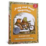 英文原版 汪培�E推荐书单 An I Can Read, Level 2 Frog and Toad Together