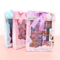 冰雪奇�文具套�b�Y盒公主女孩�和��Y物小�W生幼��@圣�Q文具