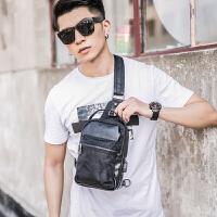 男包多功能时尚包青年挎包 韩版新款迷彩单肩包休闲户外骑行胸包