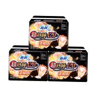 苏菲 超熟睡卫生巾柔棉感纤巧夜用420mm 8片*3包