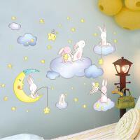 卡通墙贴纸儿童房间卧室婴儿墙面装饰幼儿园环创贴画环境布置材料